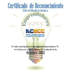 Emprendedores  |  NCHCC